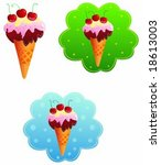 ice cream | Shutterstock .eps vector #18613003