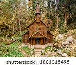 Wooden Pilgrimage Rural Chapel...