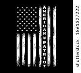 american patriot   american... | Shutterstock .eps vector #1861327222