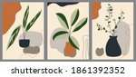 set of abstract creative... | Shutterstock .eps vector #1861392352