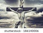 Crucifixion. Christian Cross...