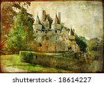 Usse - fairy castle Loire' valley (from my castle collection) - stock photo
