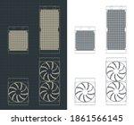 stylized vector illustrations... | Shutterstock .eps vector #1861566145