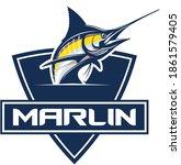 Marlin Fishing Logo Template ...