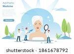 aesthetic physician team...   Shutterstock .eps vector #1861678792