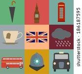 english symbols | Shutterstock .eps vector #186187595