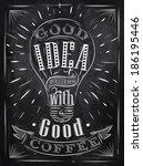 posterlettering  good idea...   Shutterstock .eps vector #186195446