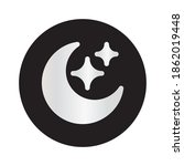 night mode icon vector design....
