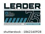 leader the new generation ... | Shutterstock .eps vector #1862160928
