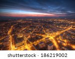 night panorama of wroclaw | Shutterstock . vector #186219002