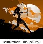 Artemis Diana Goddess Greek...