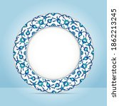 Flower Decorative Plate With...