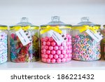 Jars Filled With Different...