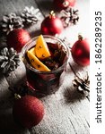 Mulled Red Wine With Oranges...