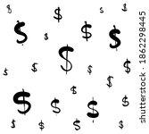 the power of dollar doodle | Shutterstock .eps vector #1862298445