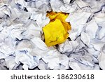 Crumpled Paper Balls White And...