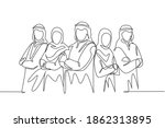 one continuous line drawing of... | Shutterstock .eps vector #1862313895