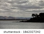 View Of The Coastline Along The ...