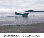 A Fishing Boat Crashed By A Bi...