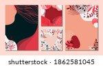 modern universal art templates. ...   Shutterstock .eps vector #1862581045