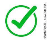 vector illustration of green...   Shutterstock .eps vector #1862631655