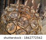 golden glass and metal luxury... | Shutterstock . vector #1862772562