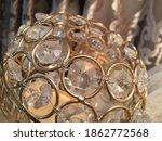 golden glass and metal luxury... | Shutterstock . vector #1862772568