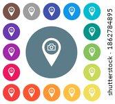 gps map location snapshot flat... | Shutterstock .eps vector #1862784895