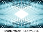 panoramic and prospective wide... | Shutterstock . vector #186298616