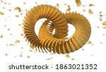 circularly sorted crunchy... | Shutterstock . vector #1863021352