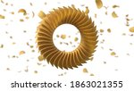 circularly sorted crunchy... | Shutterstock . vector #1863021355