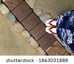 Japanese Clog Shoes Geta...