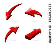 vector illustration of 3d...   Shutterstock .eps vector #1863060385