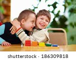 Happy Kids With Disabilities I...