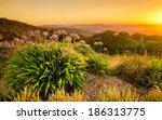 sunrise in the adelaide hills | Shutterstock . vector #186313775