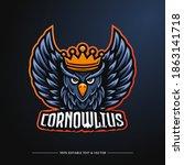 owl mascot logo. fit for... | Shutterstock .eps vector #1863141718