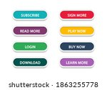 set of different colorful...   Shutterstock .eps vector #1863255778