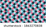 Tartan Rhombus Tiles Seamless...
