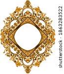 Golden Baroque And  Ornament...