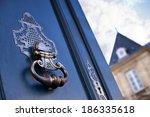 Door Knocker Of An Old Mansion...