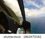 Molokai Coastline From A...