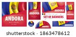 vector set of banners with the... | Shutterstock .eps vector #1863478612