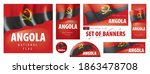 vector set of banners with the... | Shutterstock .eps vector #1863478708