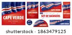 vector set of banners with the... | Shutterstock .eps vector #1863479125