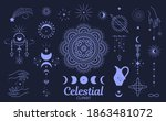 celestial  magic clipart.... | Shutterstock .eps vector #1863481072