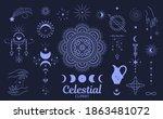 celestial  magic clipart.... | Shutterstock .eps vector #1863481072