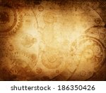 Vintage Clockwork Background