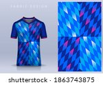 fabric textile for sport t... | Shutterstock .eps vector #1863743875