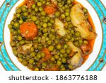 Baked  Green Peas With Chopped...