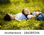 girls having fun | Shutterstock . vector #186389246